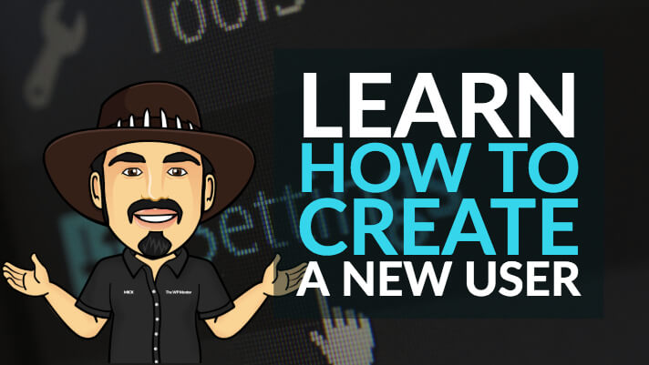 Learn how to create a new user for your WordPress developer