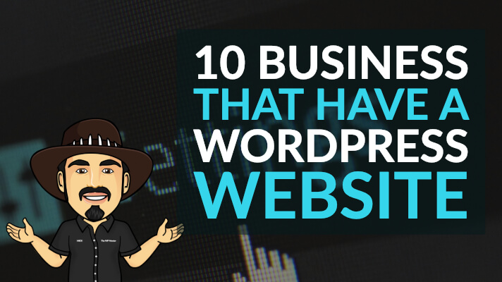 10 Business that have a WordPress Site