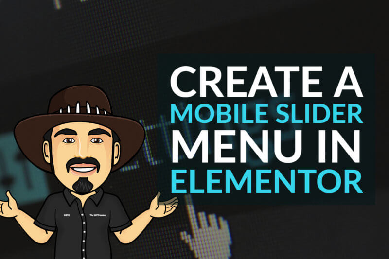 Create a Mobile Slider Menu in Elementor